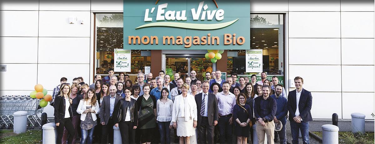 10 avril 2017   inauguration officielle du 50e magasin L Eau Vive à  Chambéry. Une étape symbolique dans la vie de l enseigne de plus en plus  présente en ... ffc08d45737