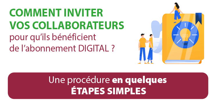 Tutoriel inviter un collaborateur